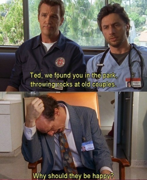 I love scrubs.