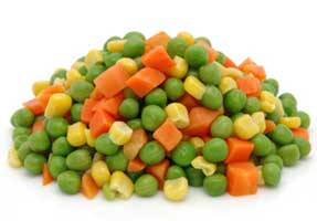 This was Dr. King;s dream. Vegetables judged by their nutritional value and not the color of their skin.