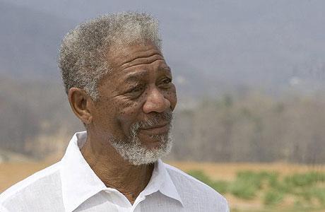 This trope is basically Mr. Freeman's career.
